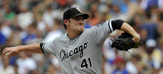White Sox Pitcher Phillip Humber Hit in Face by Line Drive