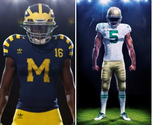 Notre Dame at Michigan Preview