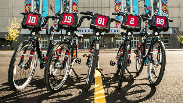 Divvy to release five Chicago Blackhawks bikes
