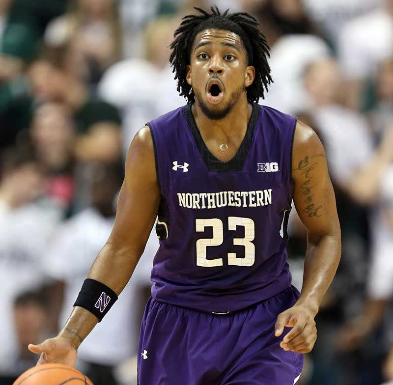 Northwestern guard JerShon Cobb is coming off of a foot injury.