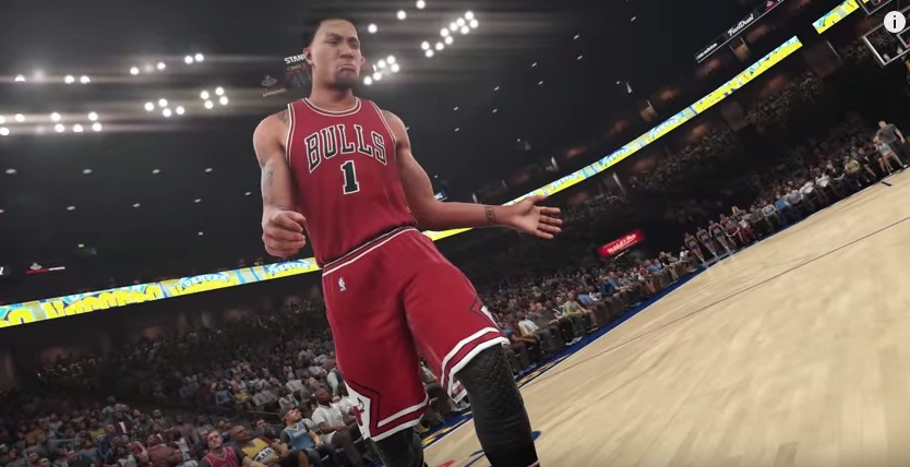 Check out Derrick Rose in the latest NBA 2K16 trailer.