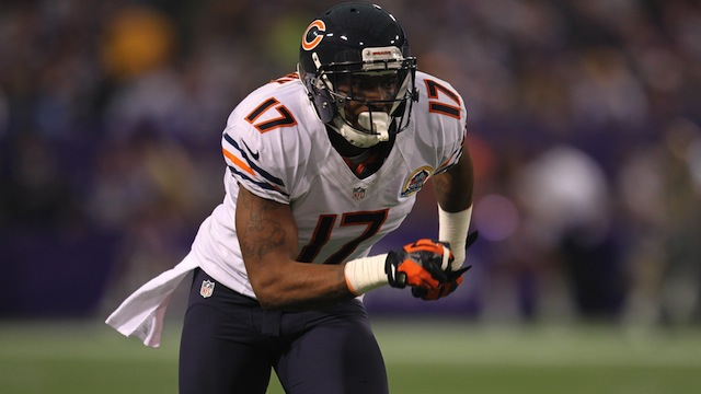 Alshon Jeffery is ready to take over as the Bears number one receiver.