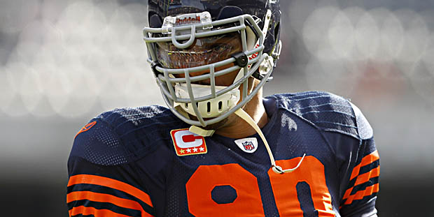 Julius Peppers is bound to be a cap casualty as soon as his replacement is found.