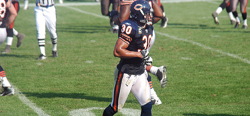 Tribute to Former Chicago Bears Safety Mike Brown