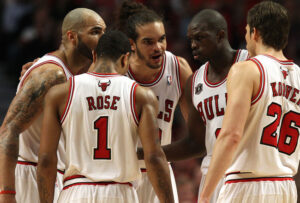 Statistically, the Chicago Bulls have the NBA's best starting lineup