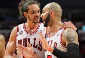 Joakim Noah and Carlos Boozer need to learn how to coexist.
