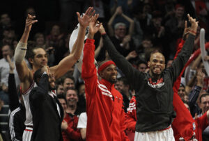 The Chicago Bulls currently have the NBA's best record
