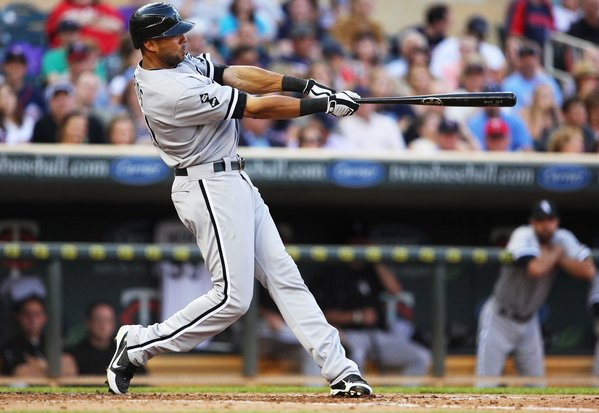 Alex Rios is deserving of this year's AL Comeback Player of the Year Award (photo via Chicago Tribune).