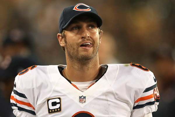 Bears quarterback Jay Cutler is once again on the injured list