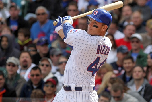 Anthony Rizzo will start the season as the Cubs first basemen.