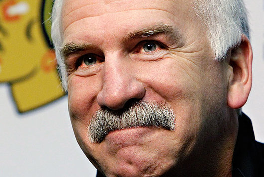Chicago Blackhawks' Coach Joel Quenneville has no need to panic (AP)