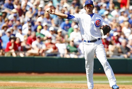 Ian Stewart is hoping to win the Cubs third base job.