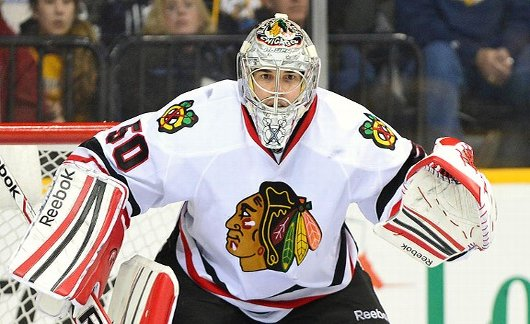 Has Corey Crawford's play been well enough to win a Stanley Cup? (ESPN)