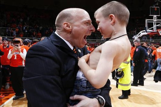 Illinois Coach John Groce will not let his team back down in the big dance (USA Today)