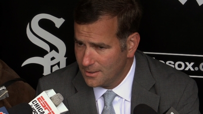 GM Rick Hahn remains calm, White Sox fall to Twins in series
