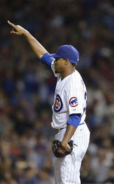 Edwin Jackson points to Brian Bogusevic in center field in appreciate of defensive gem, ChicagoNow.com