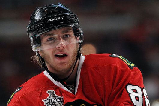 Blackhawks RW Patrick Kane looks to win Gold and the Stanley Cup next season (Bruce Bennett/Getty Images)