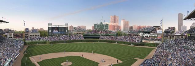 wrigley field renovation AP photo