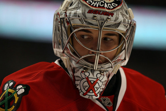 The Blackhawks are without Corey Crawford indefinitely