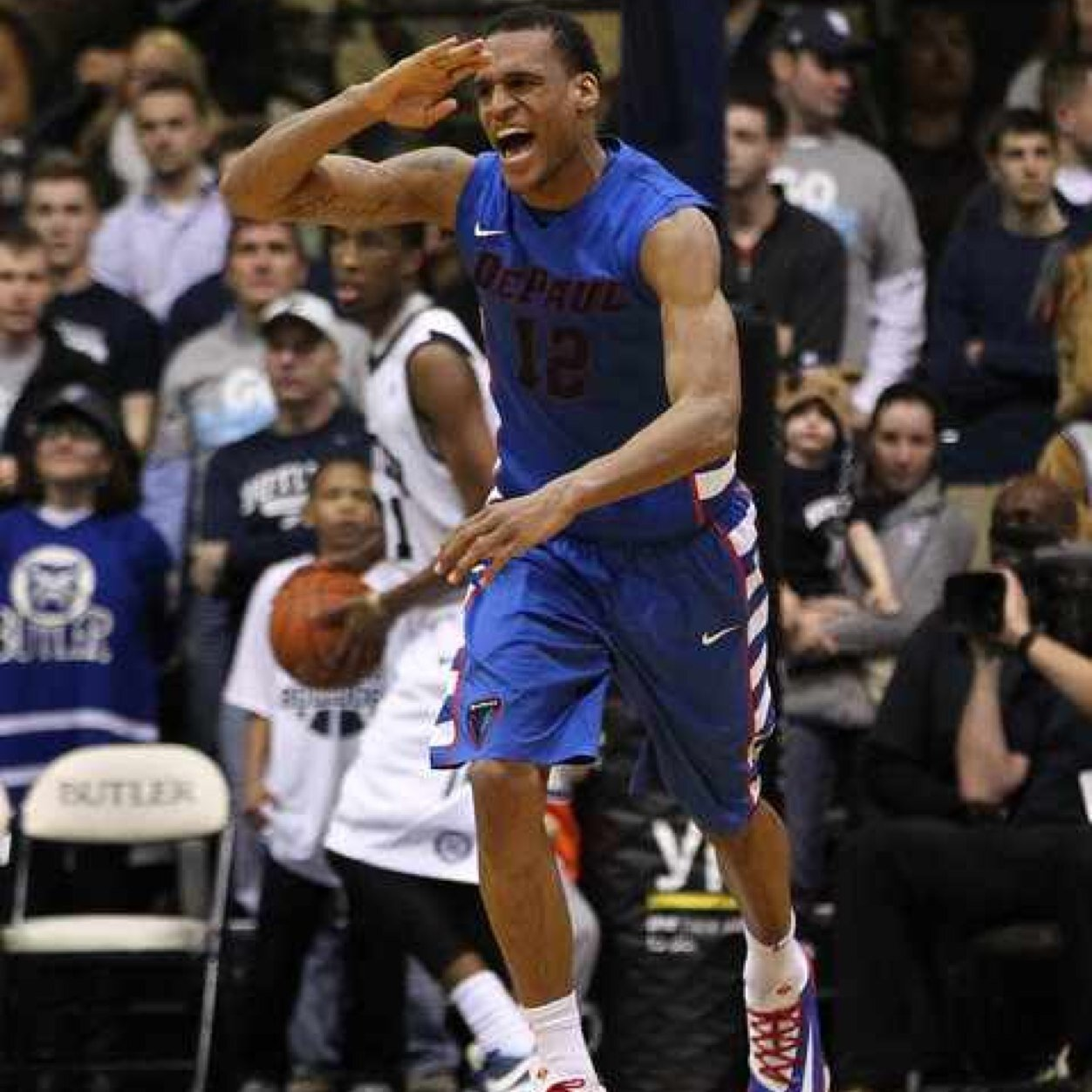 Cleveland Melvin is no longer a student at DePaul University (photo courtesy of  the Chicago Tribune)