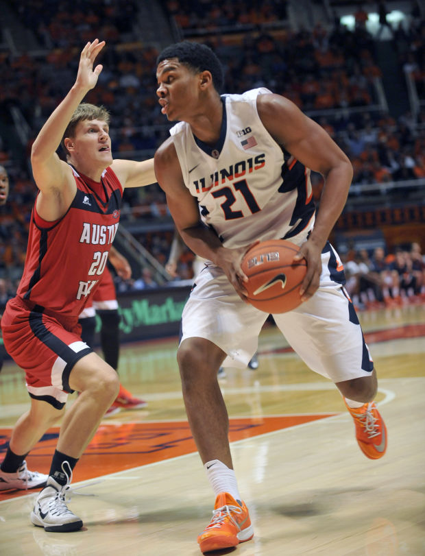 Illini forward Malcolm Hill has put the team on his back (photo from Google).