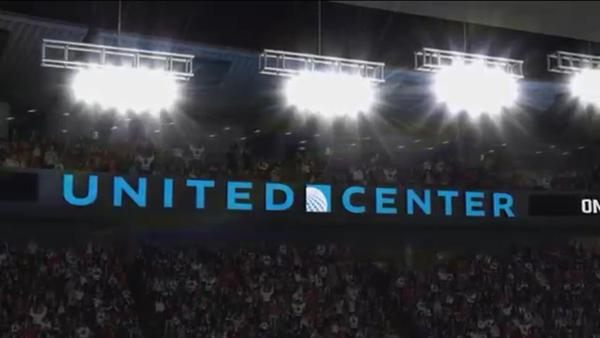 The United Center will be a part of EA Sports' NHL 16.