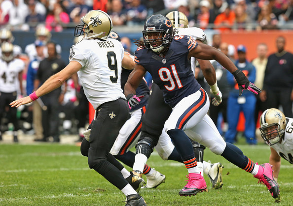 The Chicago Bears have cut David Bass.
